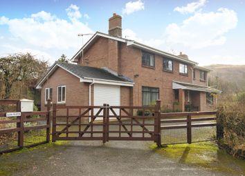 Thumbnail 5 bed detached house for sale in Dolau, Llandrindod Wells