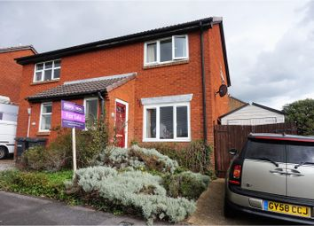 Thumbnail 3 bed semi-detached house for sale in Lionheart Way, Bursledon Green