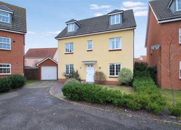 Thumbnail 6 bed detached house for sale in Century Drive, Grange Farm, Kesgrave, Ipswich