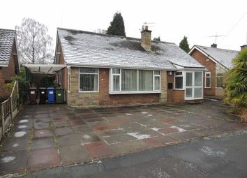 Thumbnail 3 bed detached bungalow for sale in Boscombe Drive, Hazel Grove, Stockport