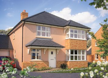 "Thumbnail 4 bed detached house for sale in ""The Canterbury"" at Oak Leaze, Patchway, Bristol"