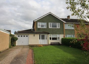 Thumbnail 3 bed semi-detached house for sale in Netherby Drive, Carlisle
