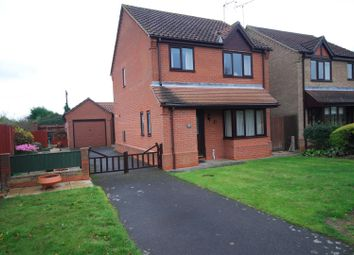 Thumbnail 3 bed detached house for sale in 10 Poachers Gate, Pinchbeck, Spalding