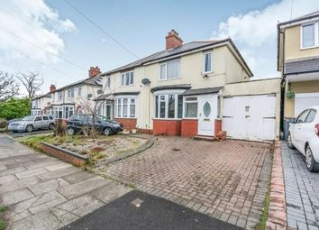 Thumbnail 3 bed semi-detached house for sale in Field Lane, Bartley Green, Birmingham, West Midlands