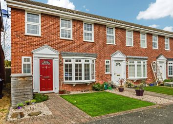 Thumbnail 3 bed end terrace house to rent in Blenheim Close, West Byfleet, Surrey
