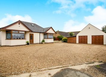 Thumbnail 4 bedroom bungalow for sale in Herne Road, Ramsey St. Marys, Huntingdon