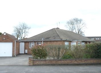 Thumbnail 2 bed semi-detached bungalow for sale in Whittle Road, Lutterworth