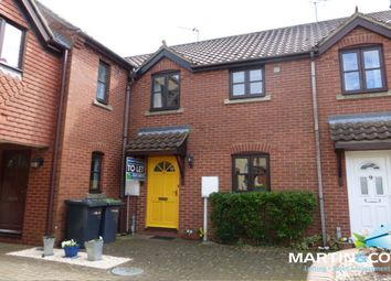 Thumbnail 2 bed terraced house for sale in Hunters Close, Waddington, Lincoln