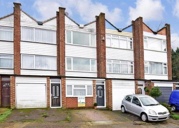 Thumbnail 3 bed town house for sale in Harptree Drive, Walderslade, Chatham, Kent