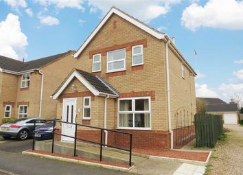 Thumbnail 3 bed link-detached house for sale in Russell Crescent, Sleaford