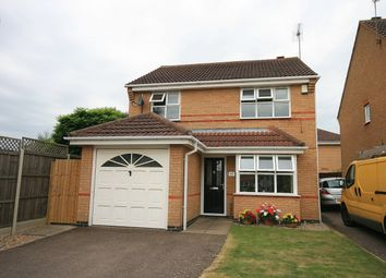 Thumbnail 3 bed detached house for sale in Gateway Close, Wootton, Northampton