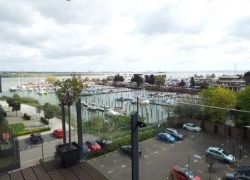 Thumbnail 3 bed flat for sale in The Boardwalk, Gillingham, Kent