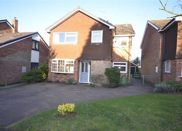 Thumbnail 4 bed detached house to rent in The Haybarns, Swynnerton, Stone