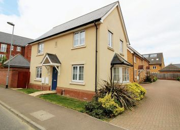 Thumbnail 3 bed detached house for sale in Bittern Road, Queens Hill, Norwich
