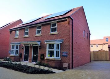 Thumbnail 3 bed semi-detached house to rent in Harrison Crescent, Angmering, Littlehampton