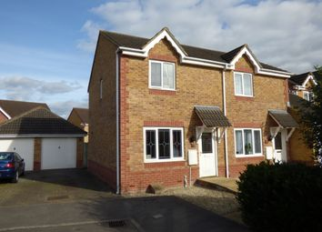 Thumbnail 2 bed semi-detached house to rent in Bramble Drive, Westbury