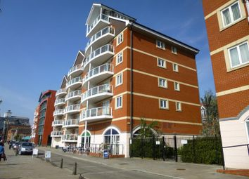 Thumbnail 2 bed flat to rent in Neptune Square, Ipswich