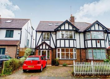 Thumbnail 4 bedroom semi-detached house for sale in Queen Elizabeth Drive, Southgate, London