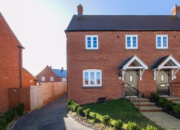 Thumbnail 3 bed semi-detached house for sale in Riley Close, Brackley