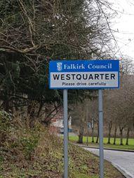 Thumbnail Land for sale in West Quarter, Falkirk