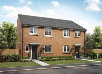 "Thumbnail 3 bed semi-detached house for sale in ""The Eveleigh"" at Cowslip Drive, Deeping St. James, Peterborough"