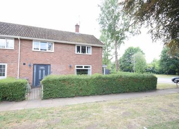 Thumbnail 4 bed end terrace house for sale in Penarth Court, Llanyravon, Cwmbran