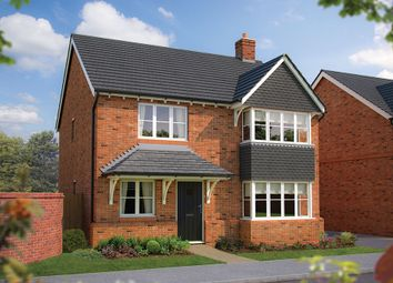 "Thumbnail 4 bed detached house for sale in ""The Canterbury"" at The Poppies, Meadow Lane, Moulton, Northwich"