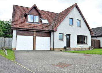 Thumbnail 4 bed detached house for sale in Castle Heather Crescent, Inverness