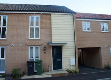 Thumbnail 2 bed terraced house to rent in Blackhill Wood Lane, Queens Hill, Norwich