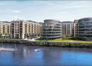 Thumbnail 1 bed flat for sale in Fulham Reach, Distillery Wharf, Parr's Way, Fulham, London