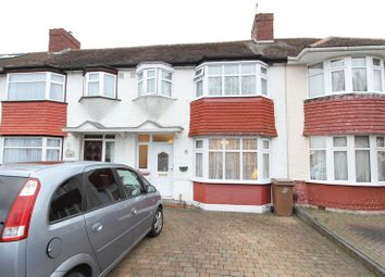 Thumbnail 3 bed terraced house for sale in Walton Avenue, North Cheam, Sutton
