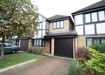 Thumbnail 4 bed link-detached house to rent in Edgell Road, Staines