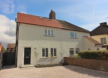 Thumbnail 4 bed semi-detached house for sale in Priory Lane, West Molesey