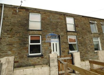 Thumbnail 2 bedroom terraced house for sale in Craig-Fryn Terrace, Nantymoel, Bridgend .