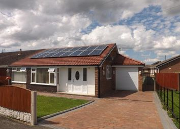 Thumbnail 3 bed bungalow for sale in Winfrith Road, Fearnhead, Warrington, Cheshire