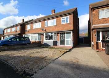 Thumbnail 3 bed semi-detached house for sale in Farm Avenue, Swanley, Kent