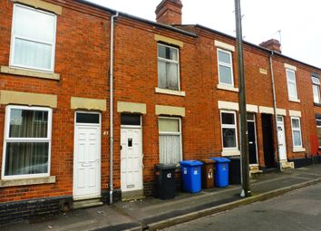 Thumbnail 2 bed terraced house for sale in Milton Street, Derby