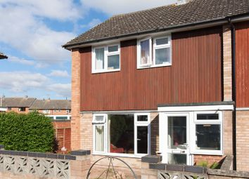 Thumbnail 3 bed end terrace house for sale in Whitecastle Close, Hereford