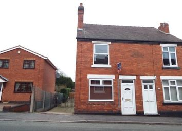 Thumbnail 3 bed end terrace house to rent in Belt Road, Hednesford, Cannock