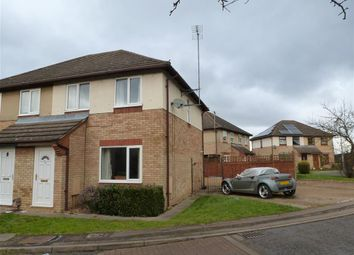 Thumbnail 3 bedroom semi-detached house to rent in Lime Tree Close, Yaxley, Peterborough