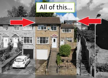 Thumbnail 3 bed terraced house for sale in Cliffe Lane South, Baildon, Shipley