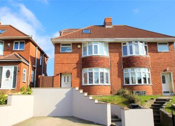 Thumbnail 4 bed semi-detached house for sale in Queens Road, Bishopsworth, Bristol