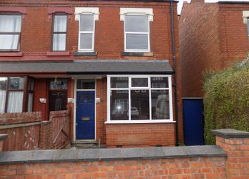 3 bed end terrace house to rent in Taylor Road, Kings Heath, Birmingham B13