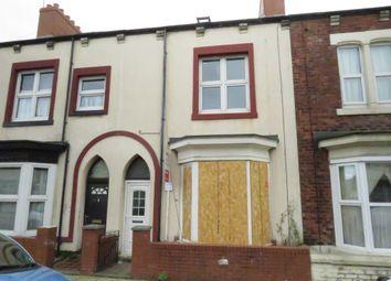 Thumbnail 4 bedroom terraced house for sale in Burbank Street, Hartlepool