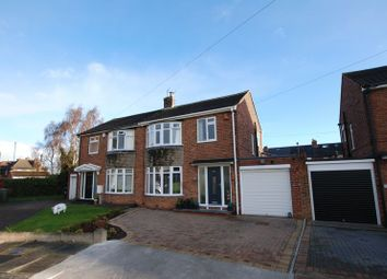 Thumbnail 3 bedroom semi-detached house for sale in Widdrington Gardens, Wideopen, Newcastle Upon Tyne