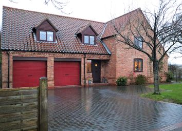 Thumbnail 4 bed detached house for sale in Lincoln Road, Bassingham, Lincoln