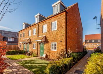 Thumbnail End terrace house for sale in Staples Close, Broadbridge Heath, Horsham