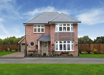 "Thumbnail 3 bedroom detached house for sale in ""Leamington"" at Angell Drive, Market Harborough"