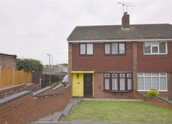Thumbnail 3 bed semi-detached house for sale in Bearsted Drive, Basildon, Essex