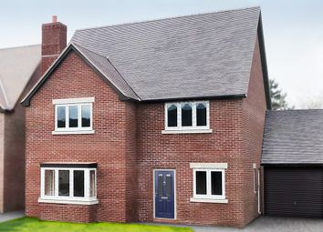 Thumbnail 4 bed detached house for sale in Plot 10 Young's Piece, Pontesbury